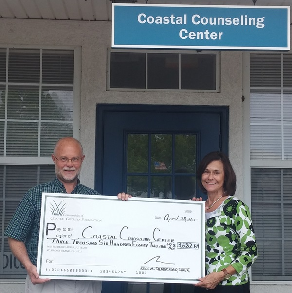Coastal Counseling Center   Grant 2015