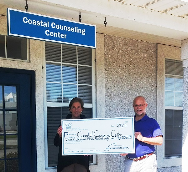 Coastal Counseling Center Grant 2016